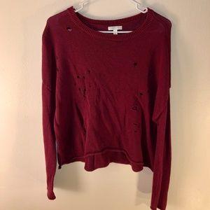 Nordstrom Rack (Abound)   Maroon Sweater   Size M